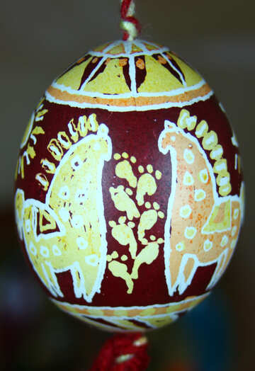 Horses for Pysanka №4346