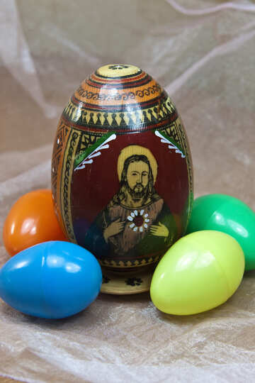 Jesus Christ on Easter egg №4338