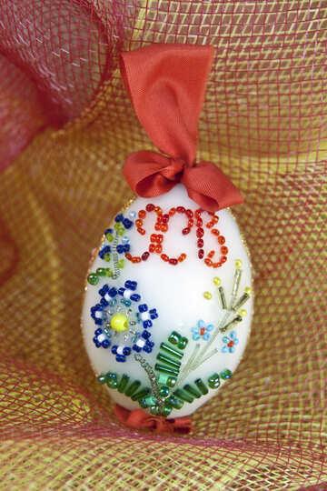 Easter egg. Monastic work. №4335