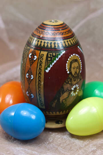 Easter egg with icon №4319