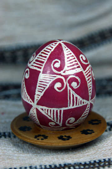 Easter egg. The symbol of fire, sun and traffic. Svarga, Kolovorot,  №4366