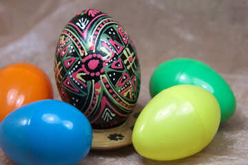 Ancient and modern Easter eggs №4334