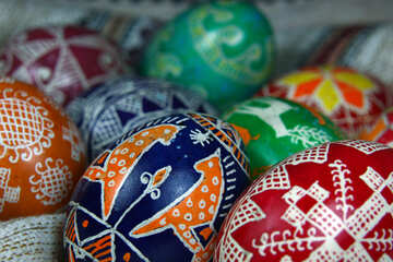 A lot of Easter eggs №4359
