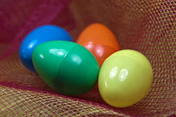 Colored Eggs  №4325
