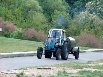 Traktor Glück Barrel №4109