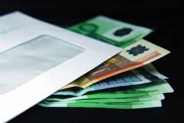 Euro envelope.