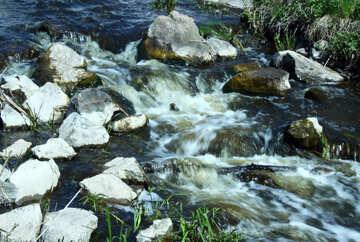 El arroyo montañoso №4759