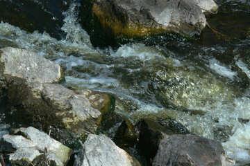 Cascata veloce flusso №4751