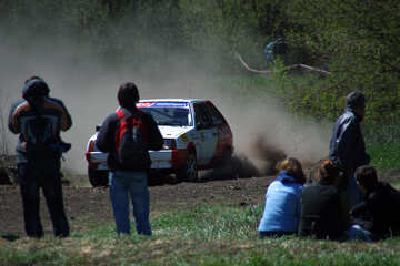 Rally. Spectators №4854