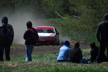 Spectators on rally №4852