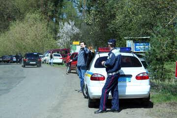 GAI OFFICER Ukrainion Road Police №4843