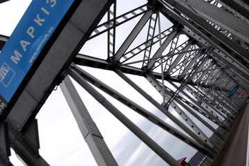 Iron bridge construction №4963