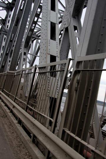 Metal bridge supports №4903