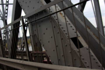 The rivets on the bridge №4956