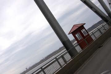 Guard booth on the bridge №4959
