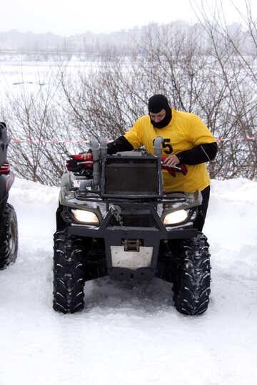ATV  per inverno  fuori da strada №4460
