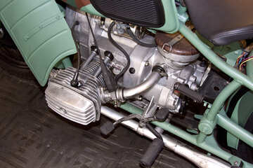 Motorcycle Engine №4429