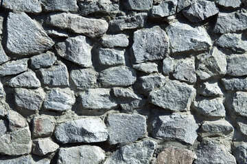 Rubble wall.Bricklaying.Texture №4681