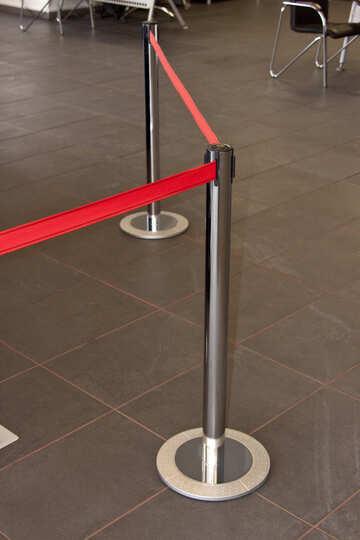 Red  Ribbon  limiting. No cross.