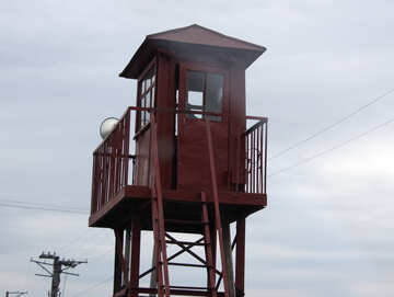 Tower with guard. №4941