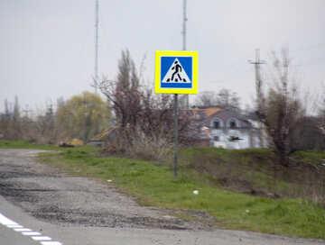 Crosswalk. Zeichen. №4892
