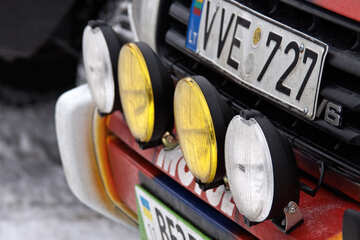 Additional anti fog  lights  №4454