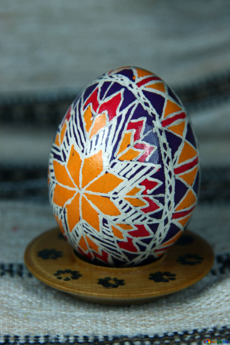 Easter egg. Star Rouge Zirka. Gift for good luck. №4372