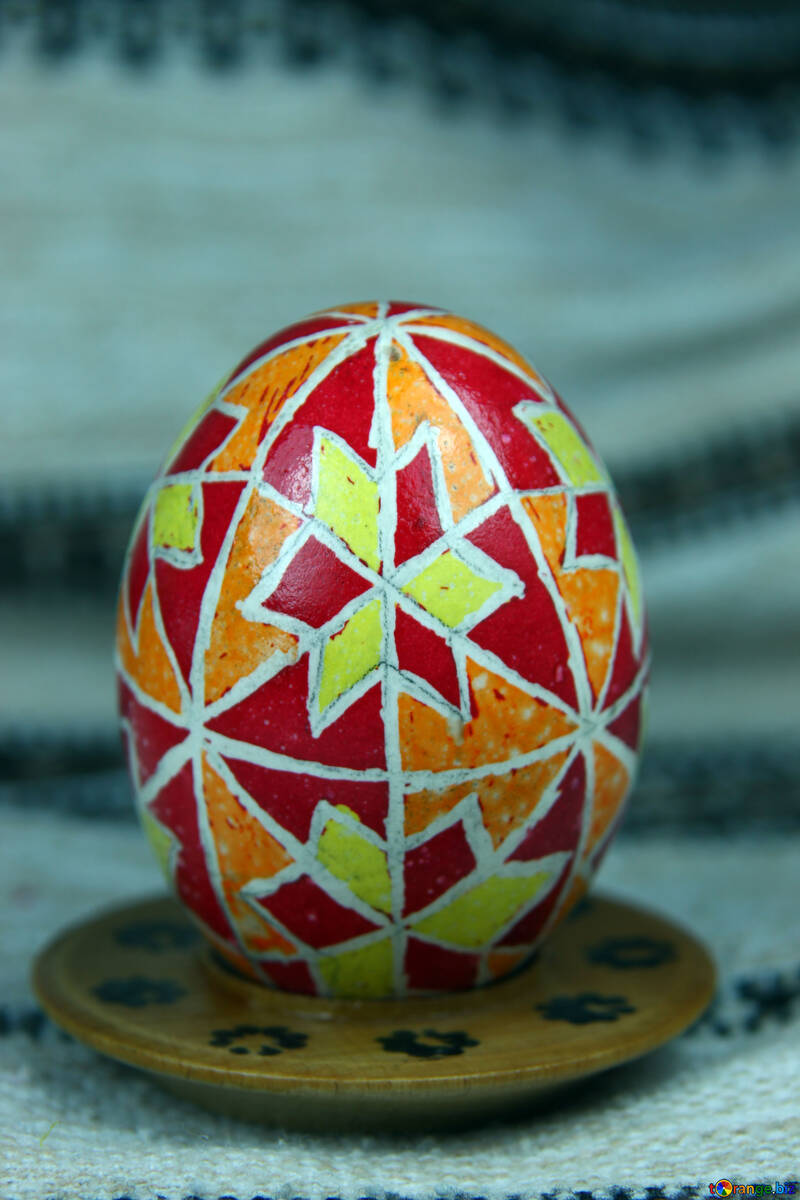 Easter egg. The symbol of star. Protecting the living. №4364