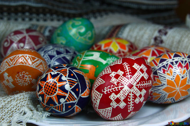 Colored Easter Eggs №4361