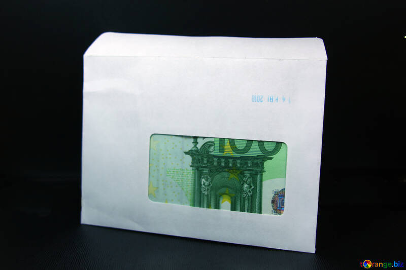 100 евро в конверте. №4731
