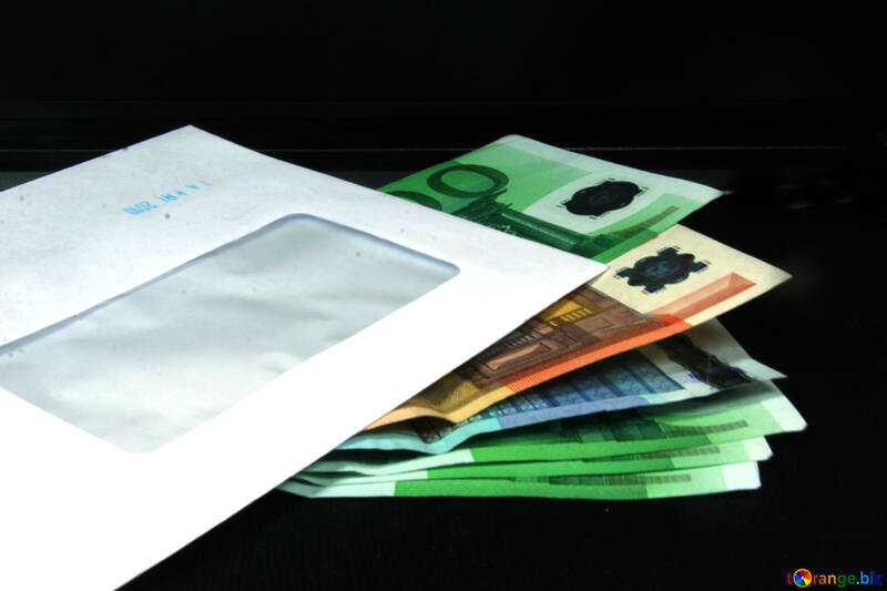 Euro and the envelope. №4722