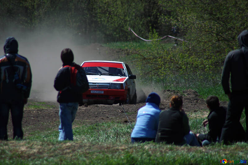 Spectators on rally №4852