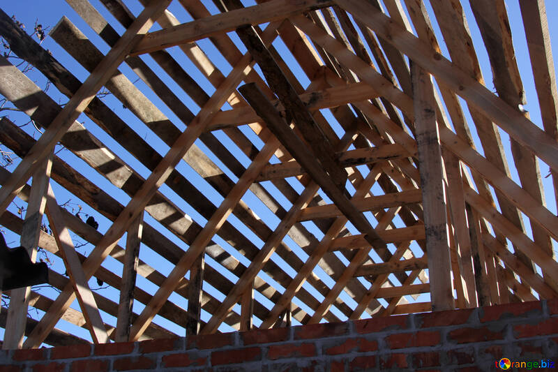 Rafter system on the roof №4013