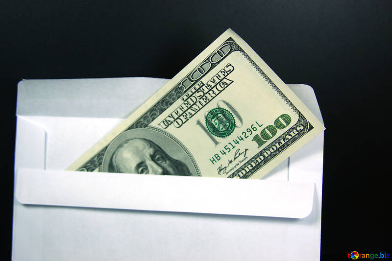 Wages in the envelope. $ 100. №4715