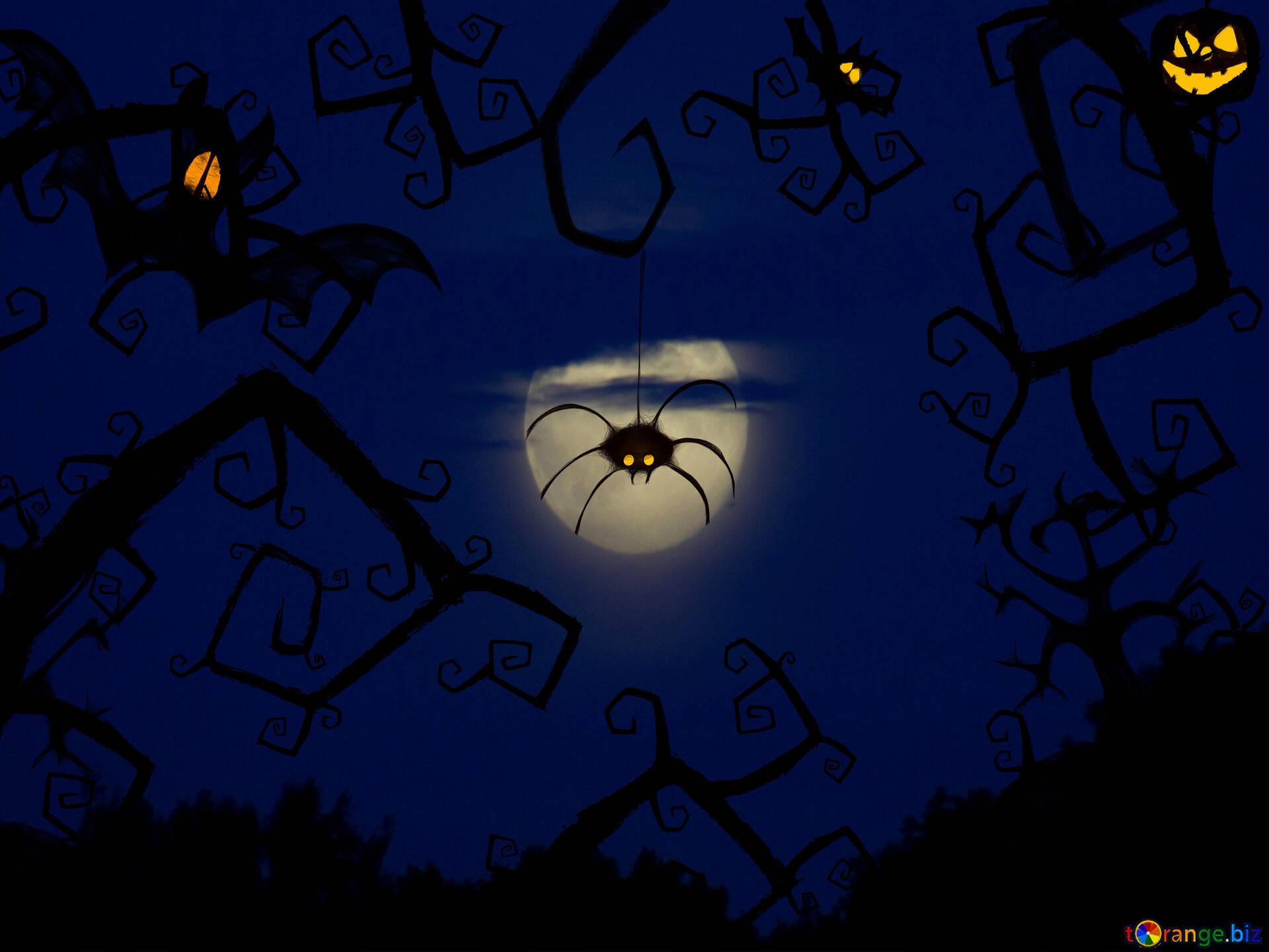 milieux festifs salutations de la carte postale halloween halloween