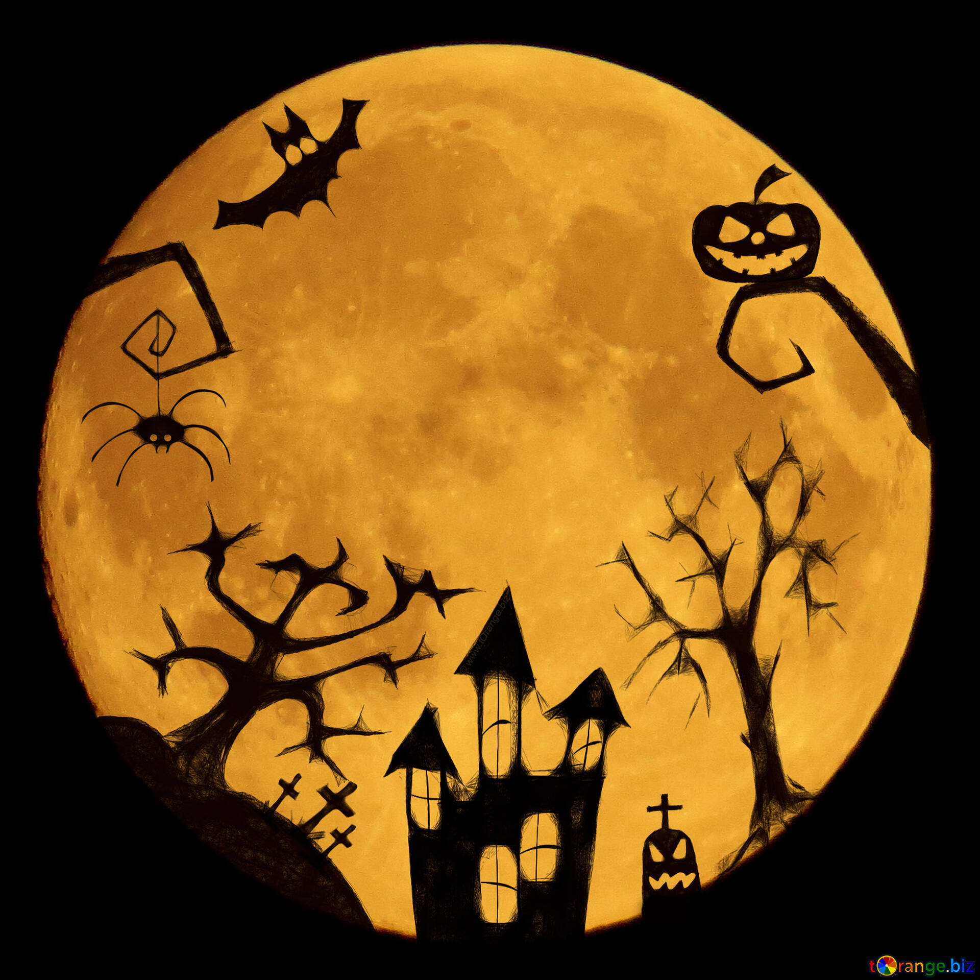 Happy Halloween Pumpkin Clipart | Clipart Panda - Free Clipart Images | Halloween  clipart, Halloween clipart free, Halloween pumpkins