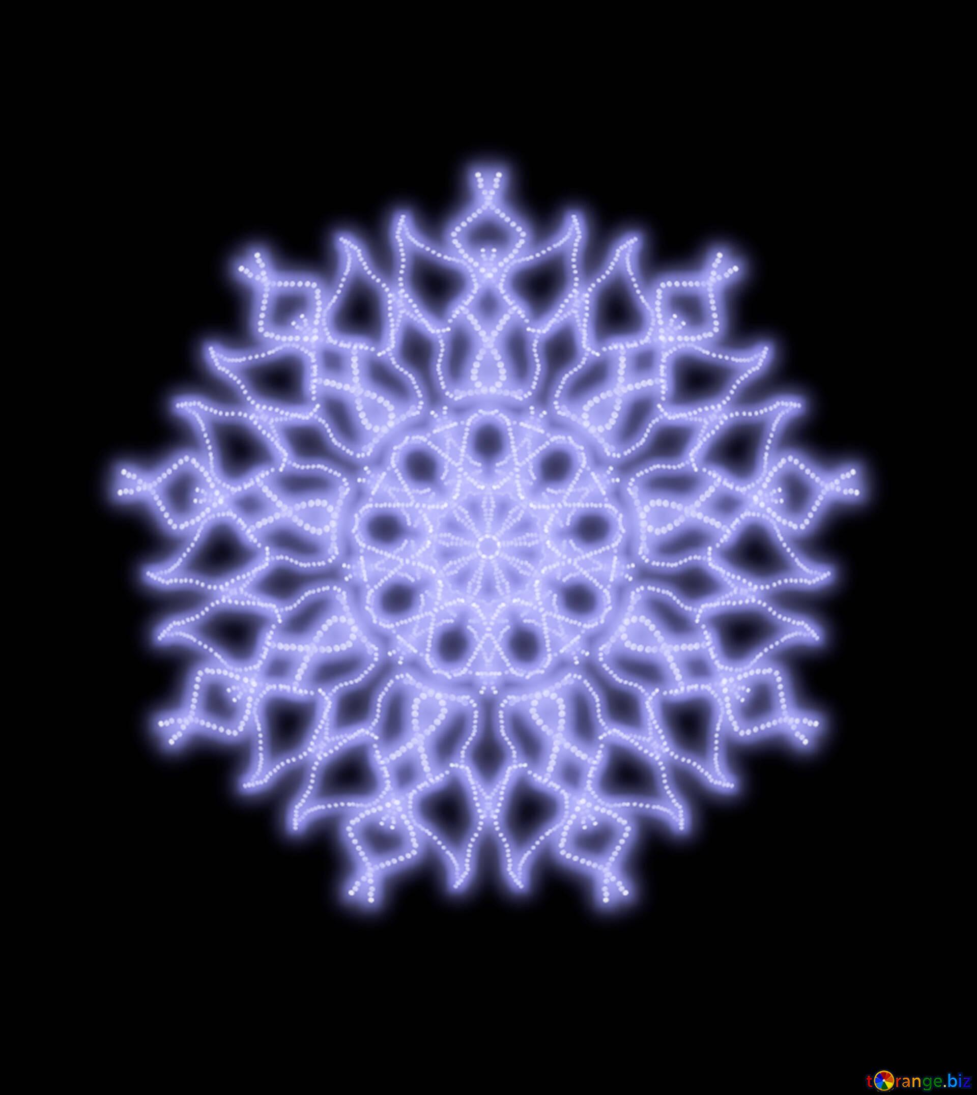 Ornament Schneeflocke Musterelement Muster Engel Ornament Muster 40574
