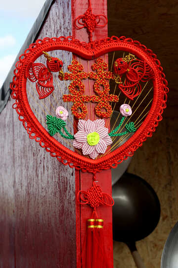 Chinese decor sweetheart №40951