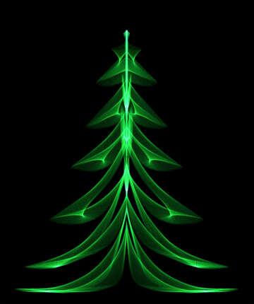 Сюреалестическая новогодняя елка №40653