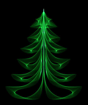 Christmas tree №40654