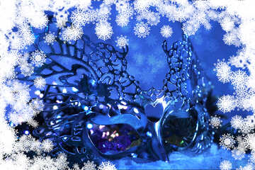 The background of the invitation to the Christmas ball №40722