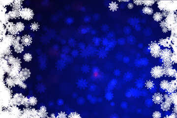 Blue Christmas background №40708