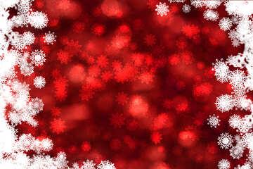 Красный фон рождество №40707