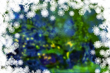 The background of the invitation to the Christmas ball №40723