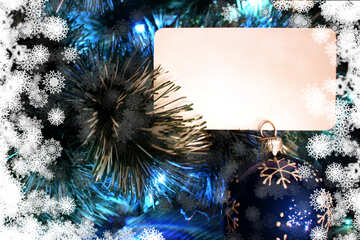 Christmas invitation background №40709