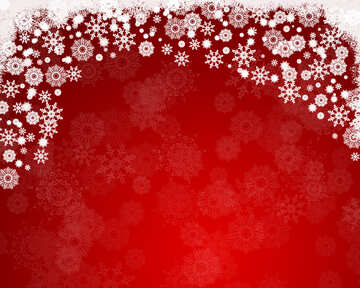 Red background for the Christmas and new year cards №40655