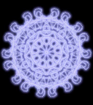 Figure snowflake №40505