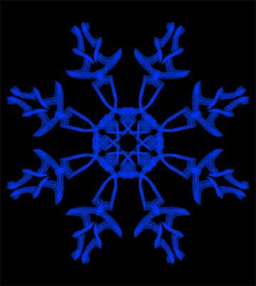 Snowflake №40051