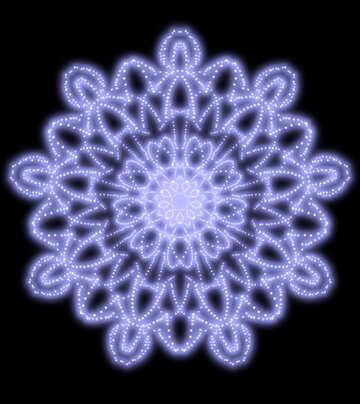 Snowflake pattern №40570