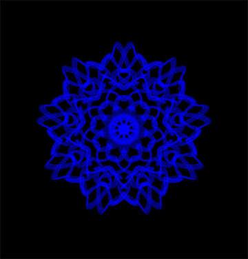 Beautiful snowflake №40127